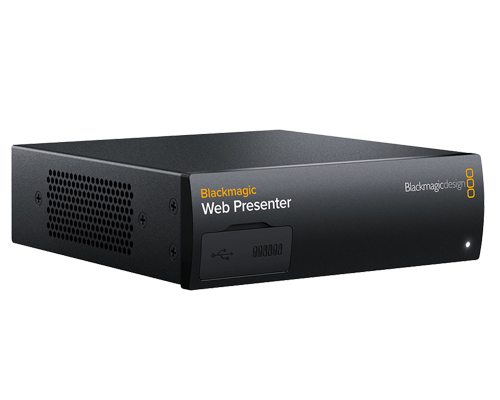 Blackmagic Web Presenter