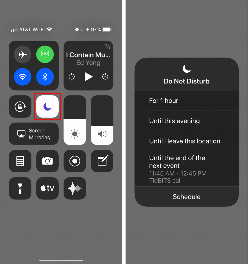 In iOS 12, Do Not Disturb Can Turn Itself Off—No More Missed
