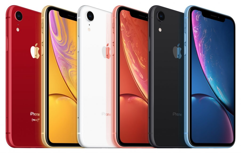 iPhone XR colors 1024x652