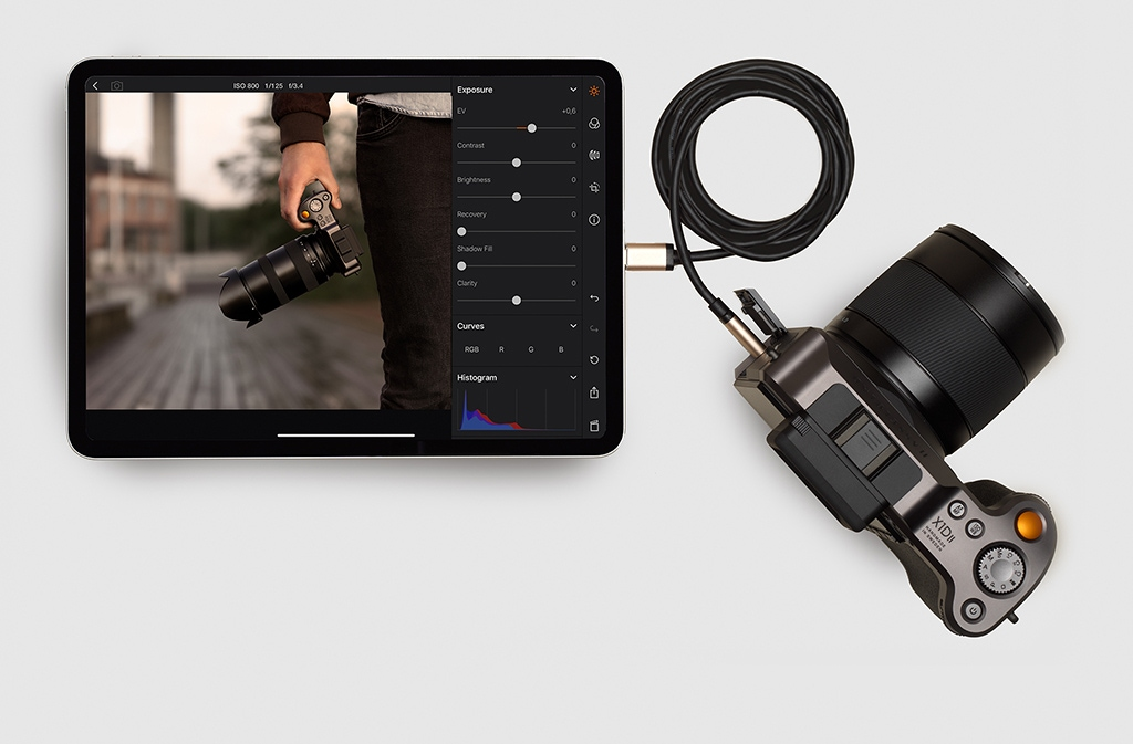 Hasselblad Tethered