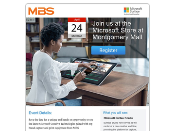 MBS Event: Surface Studio and Creators Update, Hasselblad X1D, and Canon Pro 2000