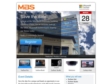 Join MBS at Microsoft Headquarters!