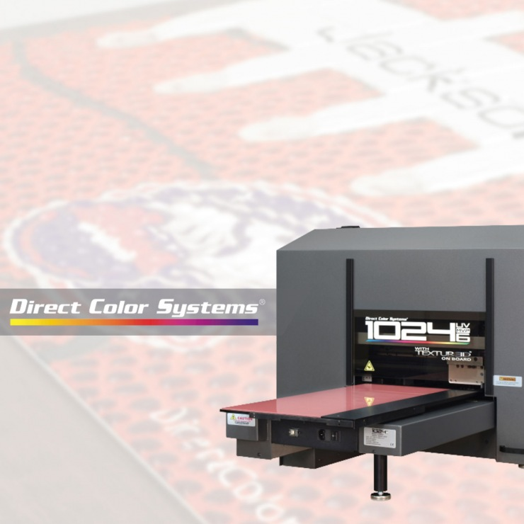 Direct Color Systems UV LED Printing Demo Event